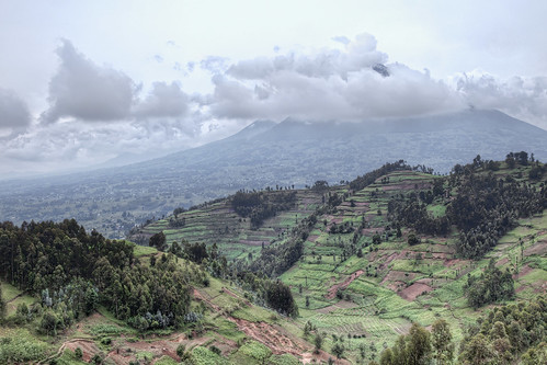 africa travel photography volcano farming rwanda hills safari farms volcanonationalpark hdr johnnypeacock traverseearth