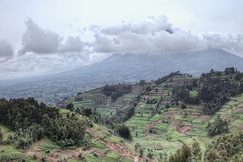 africa travel photography volcano farming rwanda hills safari farms volcanonationalpark hdr johnnypeacock traverseearth