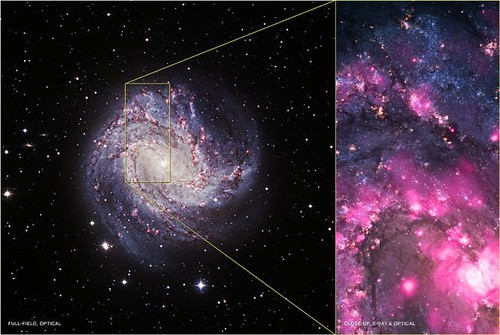 Black Hole Outburst in Spiral Galaxy M83