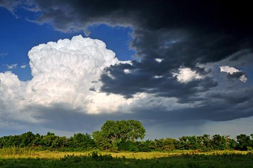 kansas prairie wichita cumulonimbus thunderstom chisholmcreekpark