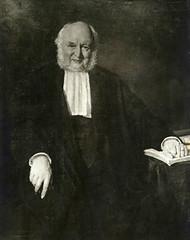 <p>Nicolaas Beets (Haarlem, 13 september 1814 – Utrecht, 13 maart 1903), ook bekend onder het pseudoniem Hildebrand, was een Nederlands auteur, dichter, predikant en hoogleraar. Het schilderij toont Beets als hoogleraar te Utrecht.</p>