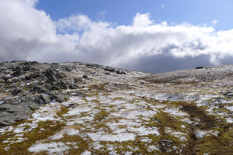 Summit area of Sgurr na Feartaig