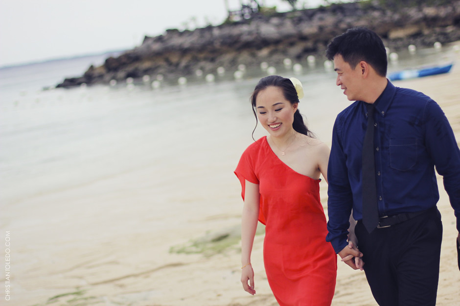 Chinese Couple, Shangri-La Mactan Resort