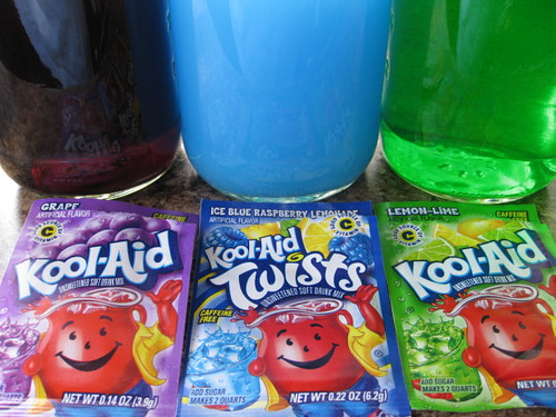 mixing the Kool Aid