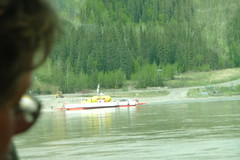 Waiting for the Yukon River ferry