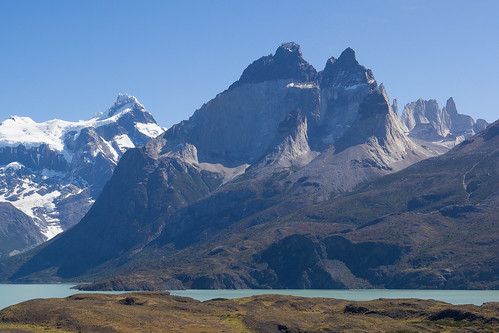 The blue massif - Torres Del Paine - National park - Chile