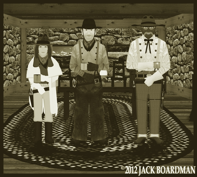 The Coopers met with Big Mac ©2012 Jack Boardman