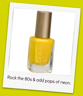 Edit-Lorel Nail Polish Yellow - Tweet Me