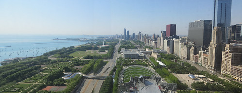 Chicago Millennium Park by webmink