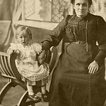 PCK_000013  Great Great Grandmother Nanny Bowens mother and Emlyn 1913