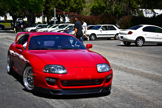 Stanced Red Supra Flickr Photo Sharing