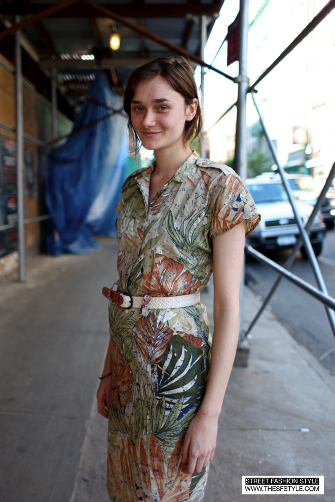 STREET FASHION STYLE: A San Francisco (SF) And New York