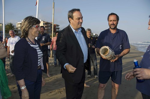 XI Fira del Mar. Agermanament del Bot Salvavides amb el Sant Pau