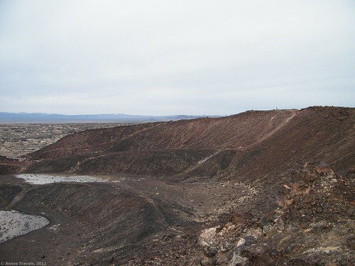 Rim of Amboy Crater, Amboy Crater National National Landmark, California