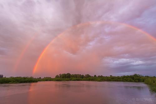 sunset oregon spring rainbow bravo unitedstates hillsboro jacksonbottomwetlands
