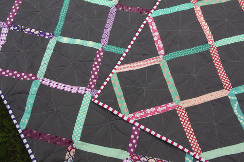 Lattice Twin Quilts