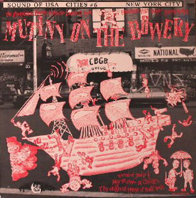 Various Artists - Mutiny On The Bowery (1988)