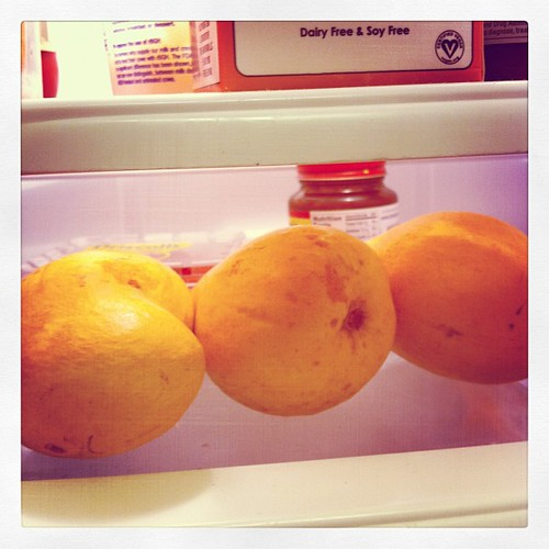 Three little mangos sitting in a row... #somethingsweet #mayphotoaday #catchup