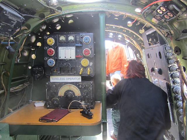 Inside the Nanton Lancaster