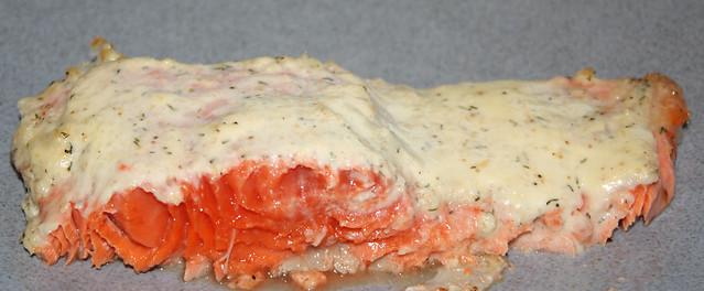 Copper River Salmon with Creme Fraiche
