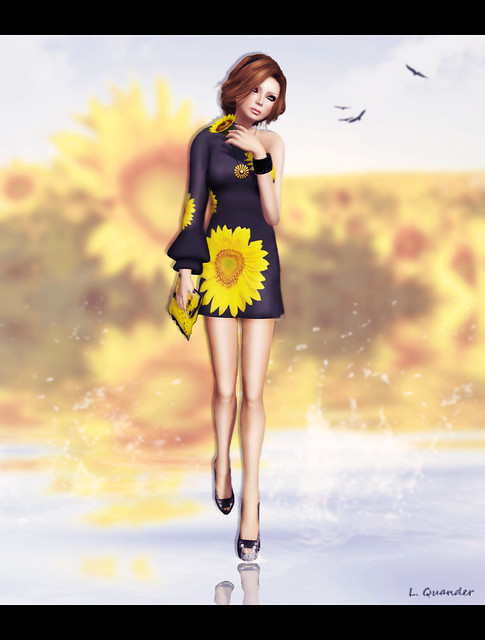 """*SoliDea FolieS*  Sunflower"