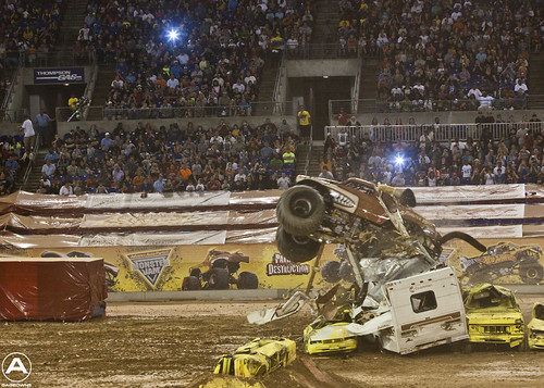 Monster Mutt tears through an RV