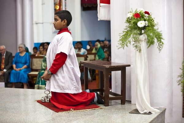 Church boy prayer for newly married couple | G Ramesh | Flickr