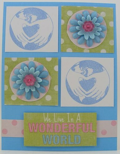 Wonderful World Card