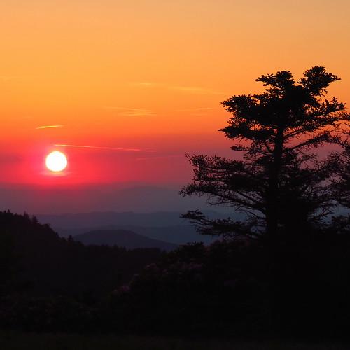 sunset appalachiantrail roundbald southernappalachians roanhighlands canonpowershotsx40hs