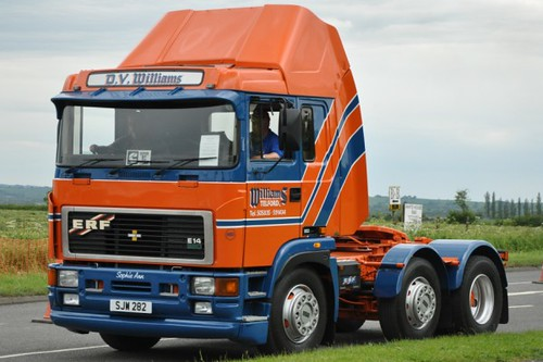 DV Williams ERF E14 SJW 282