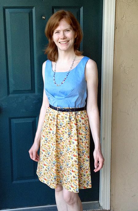 Two-Color Lisette Passport Dress
