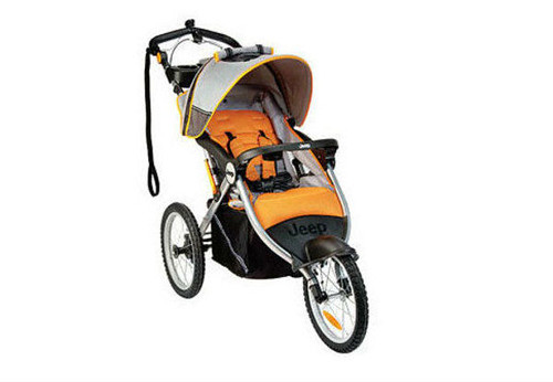 Triciclo Jeep Overland Limited Jogging Fierce