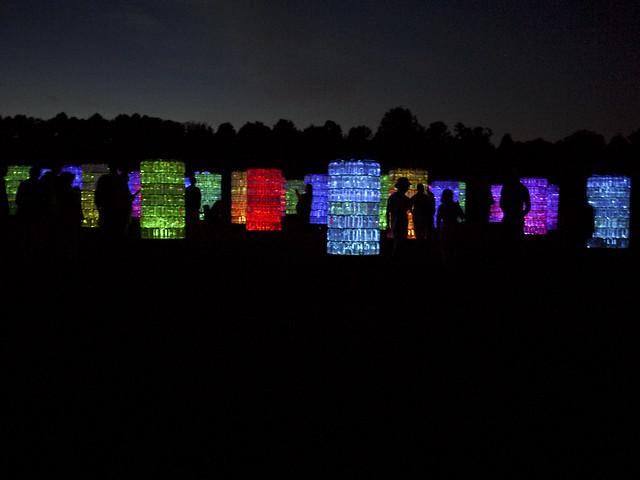 bruce munro light installation