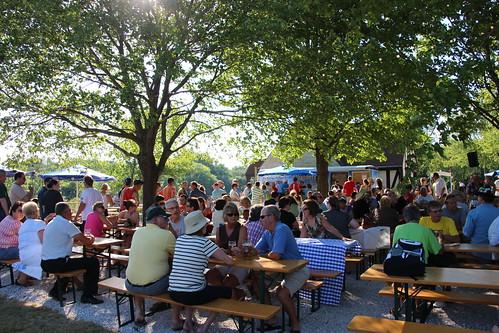 Estabrook Beer Garden Opens