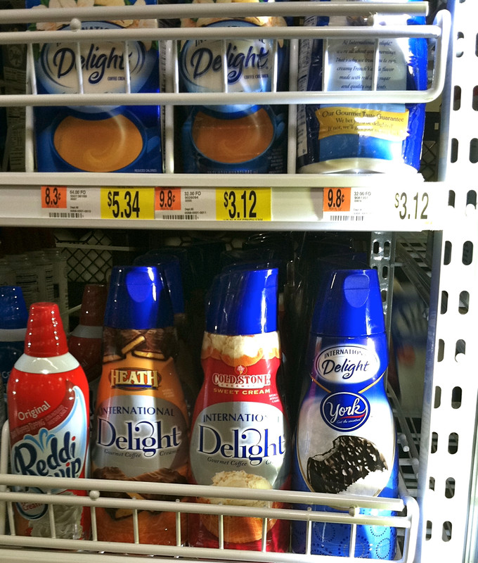 #IcedDelight International Delight Creamer at Walmart