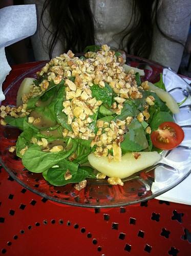 tavern spinach salad