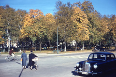Ljungby - Stationsgatan (1958)