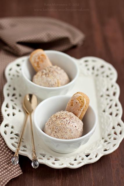 "Ice cream ""Tiramisu"""