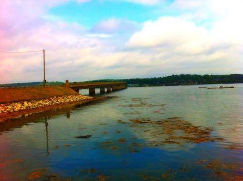 bridge water maine highway1 2012 iphone wiscasset