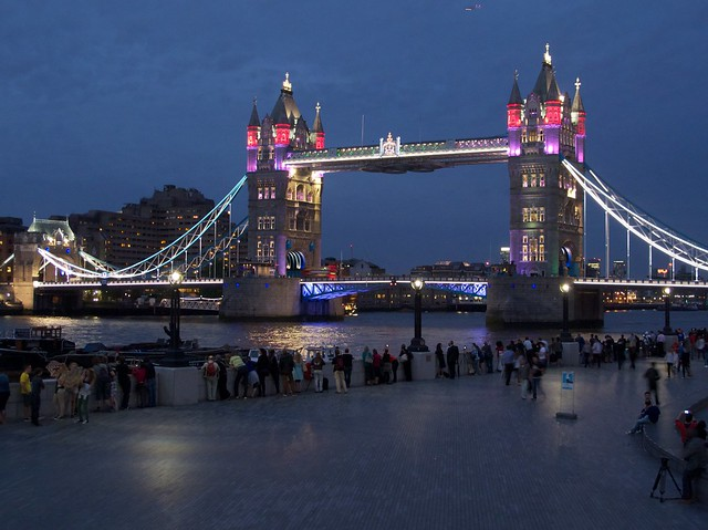 Tower Bridge Lights