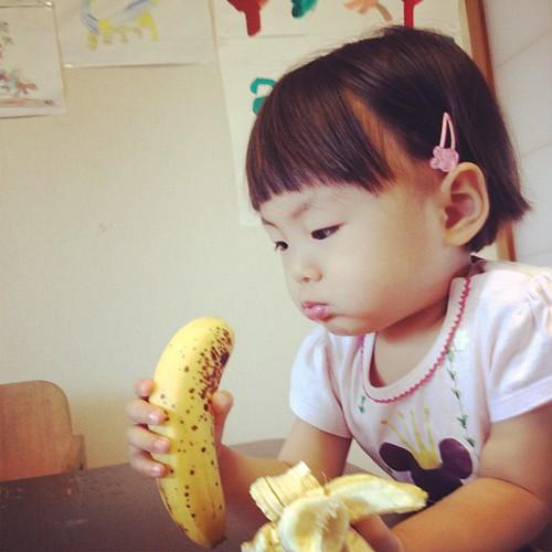 バナナとわたし。