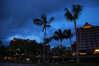 Aulani at night