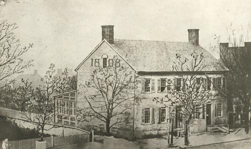 First Brick House, Dayton, Ohio, by Dayton Metro Library Local History ...