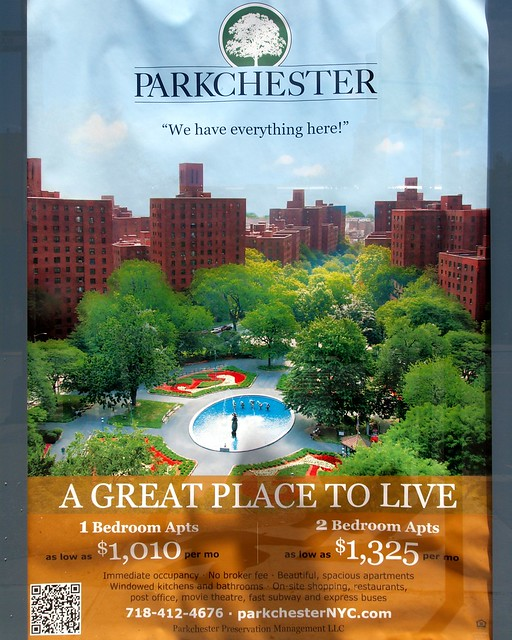 Parkchester Apartment Complex Poster, Bronx, New York City