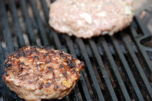 Making Burgers! (veal and beef)
