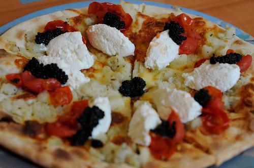 Chef Pasqualino Barbasso's Signature Cenerentola Pizza