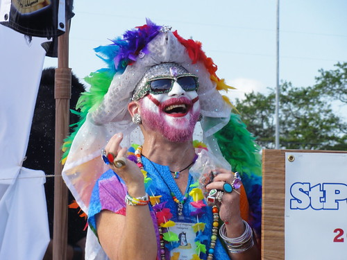 Sister of Perpetual Indulgence at Saint Pete Pride