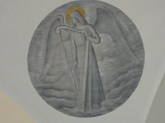 Engelsfigur in der Kirche von Oulu