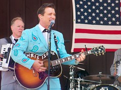 Sat, 06/30/2012 - 3:26pm - Chris Isaak at the Indian Ranch in Webster, MA. 6-30-2012