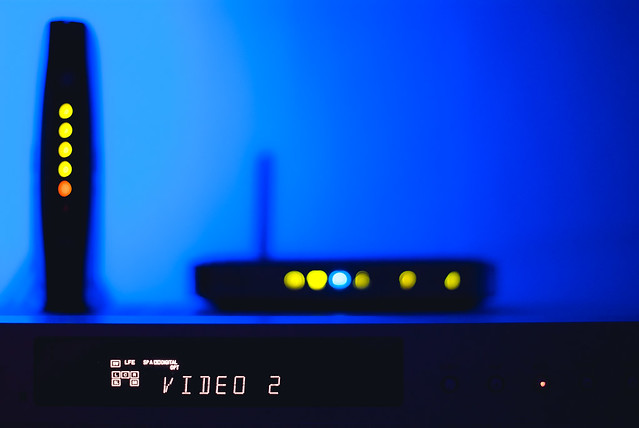 Day 176 - Home Entertainment Bokeh